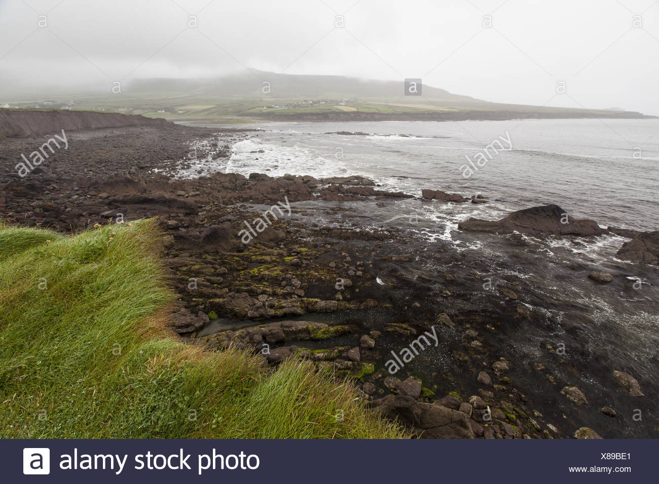 Bay on the Dingle Peninsula in Ireland - Stock Image