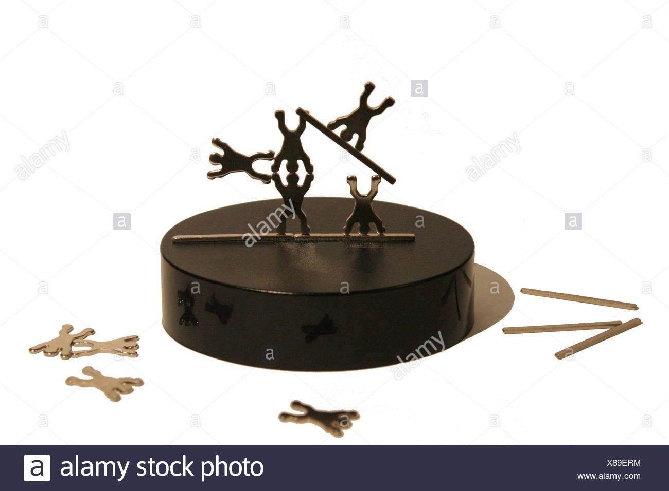 antistress and puzzle progress Stock Photo