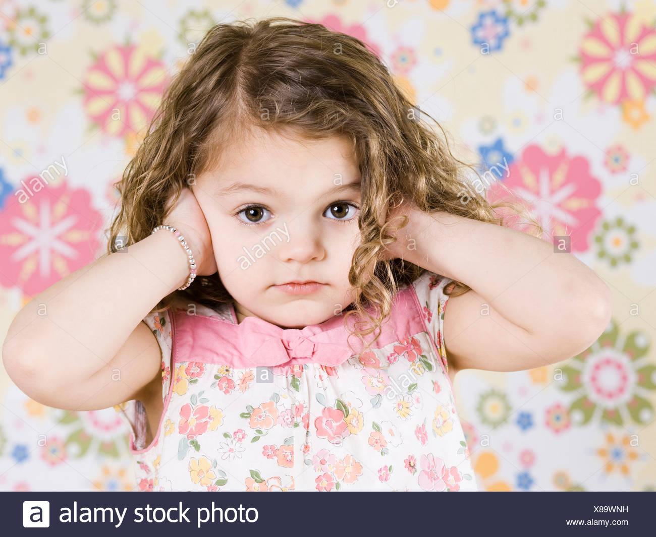 little girl - Stock Image