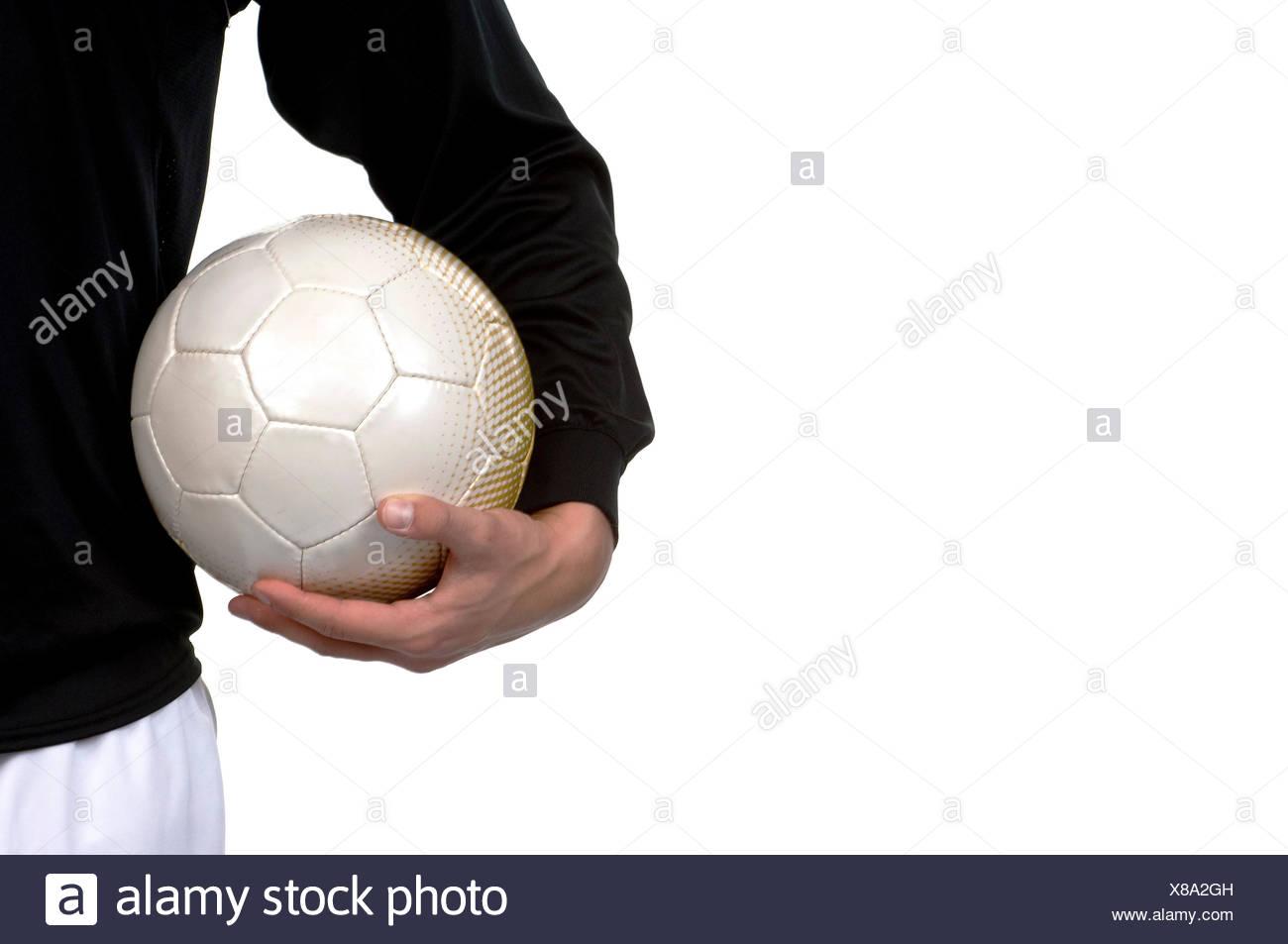 footballer - Stock Image