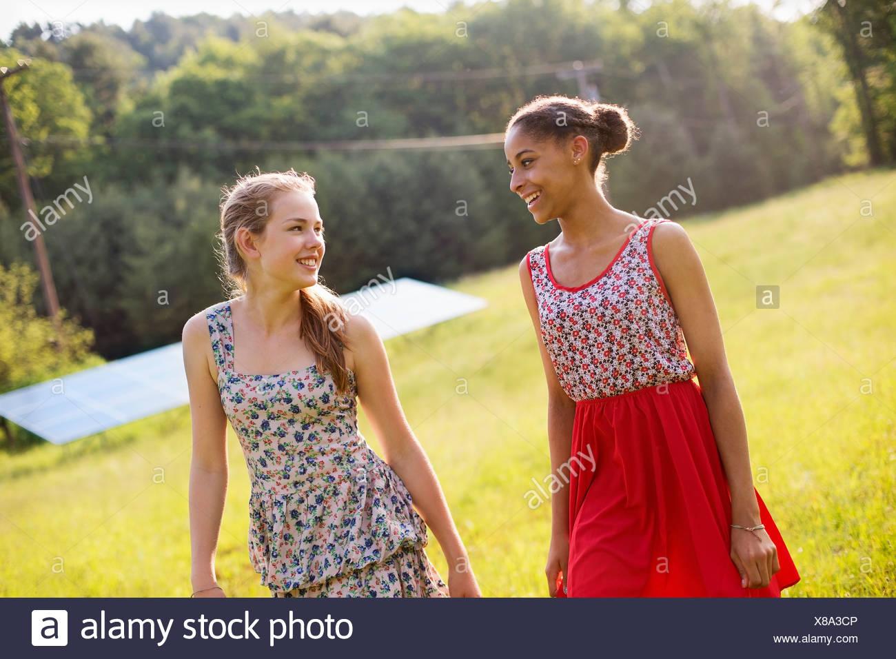 Farm girls young Farm girls