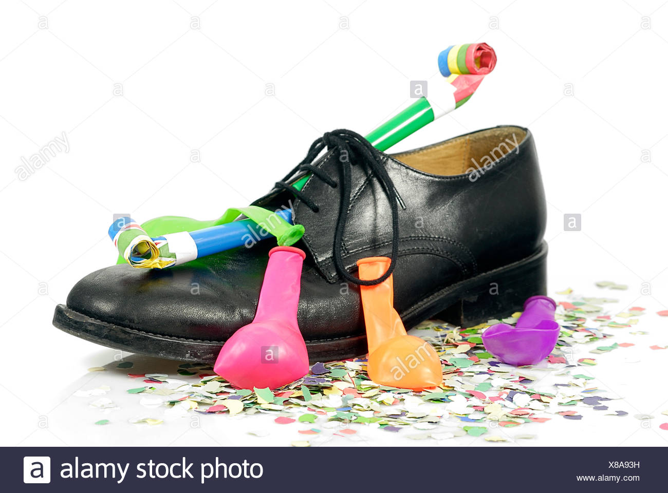 shoes party celebration - Stock Image