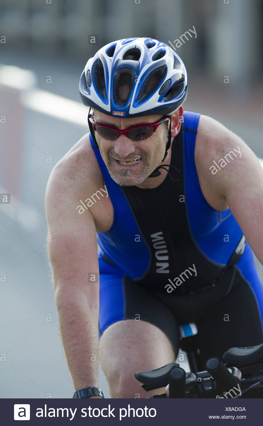 Triathlete - Stock Image