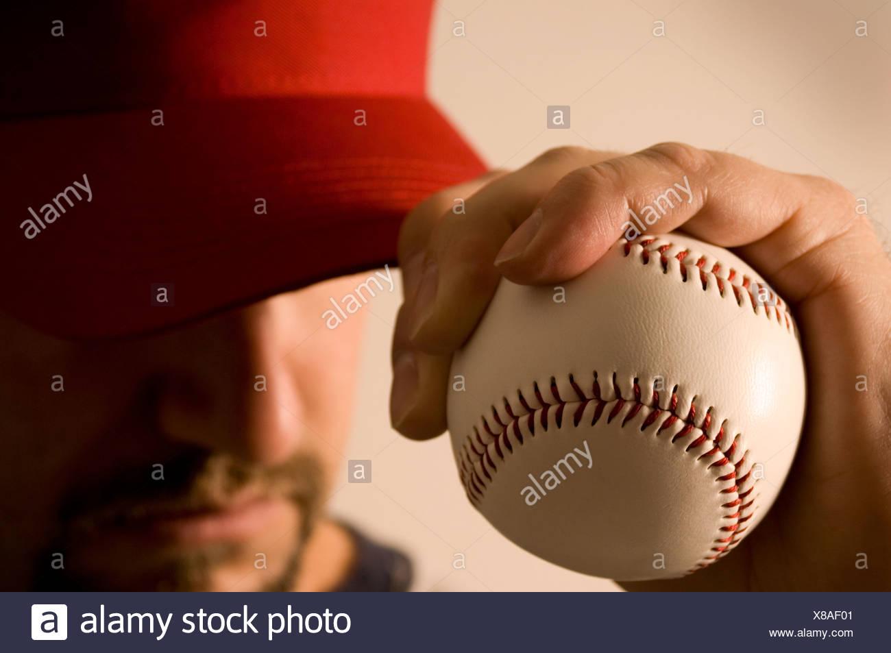 Baseball player - Stock Image