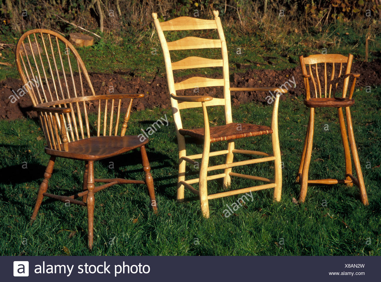 Windsor Chair Making Stock Photos Windsor Chair Making Stock