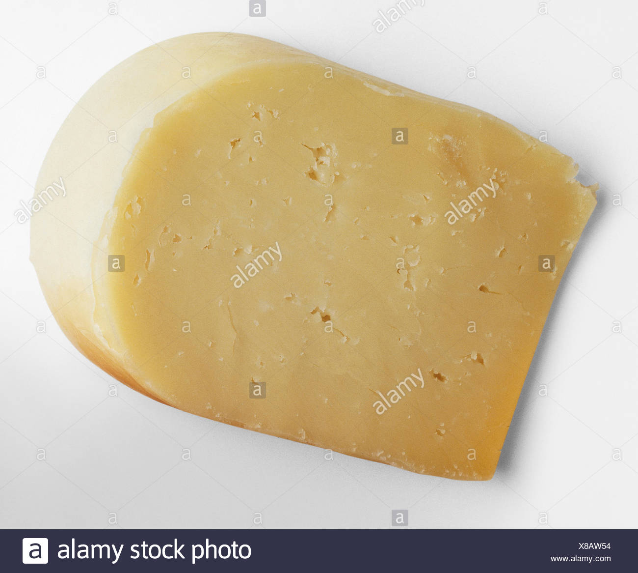 A slice of Monterey jack cheese Stock Photo: 280522400 - Alamy