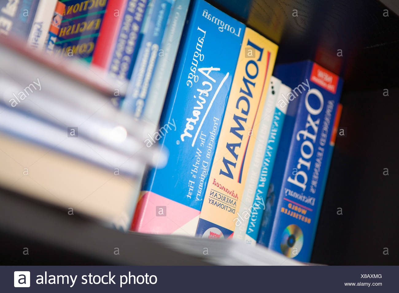 Dictionaries Stock Photo