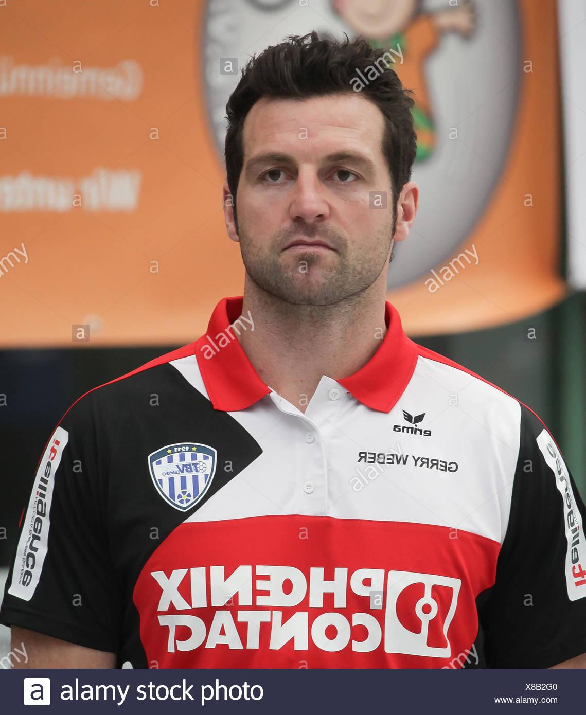 Florian Kehrmann  (TBV Lemgo) - Stock Image