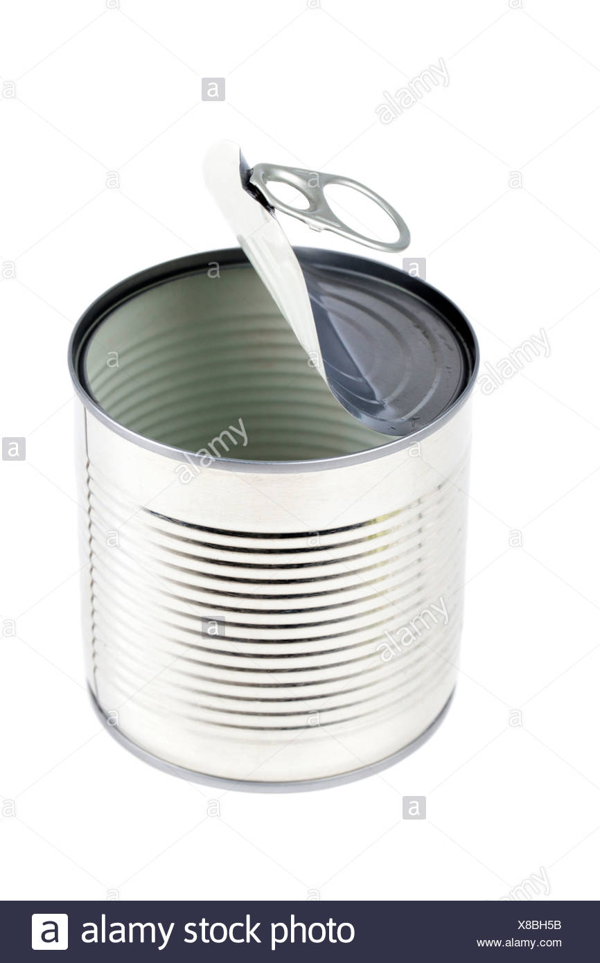 Tin can - Stock Image