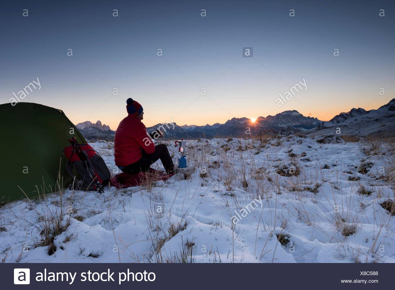 Dolomites, Fassa Valley, San Pellegrino Pass, Europe, Trentino, Alps, Italy, Stock Photo