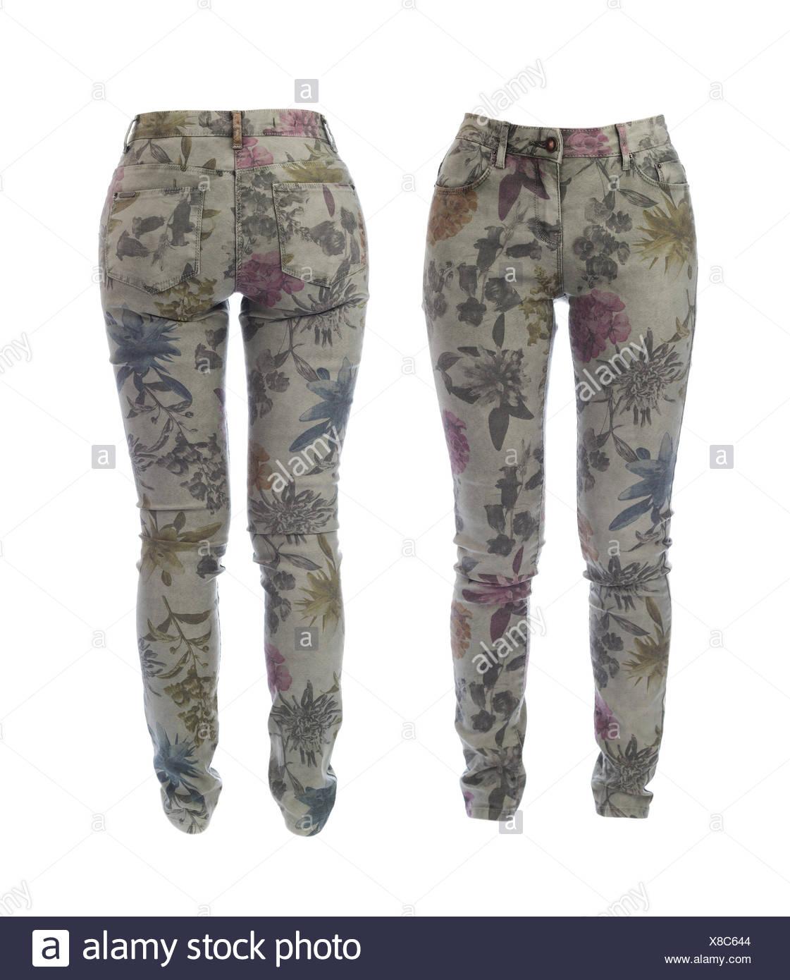 Att Jeans Boy Fit Jeans Mit Floralem Muster 6