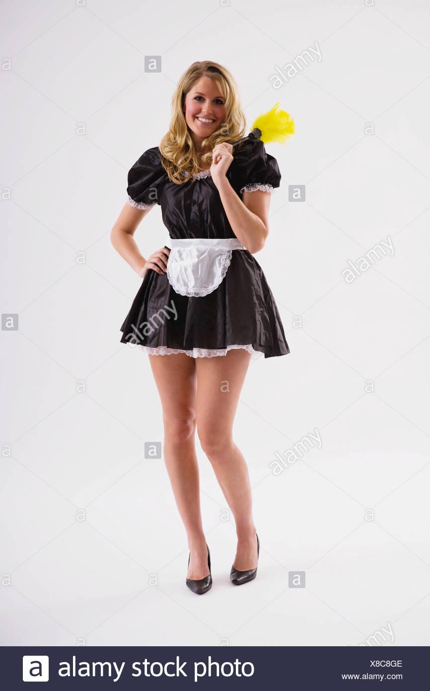 Black french maid mature
