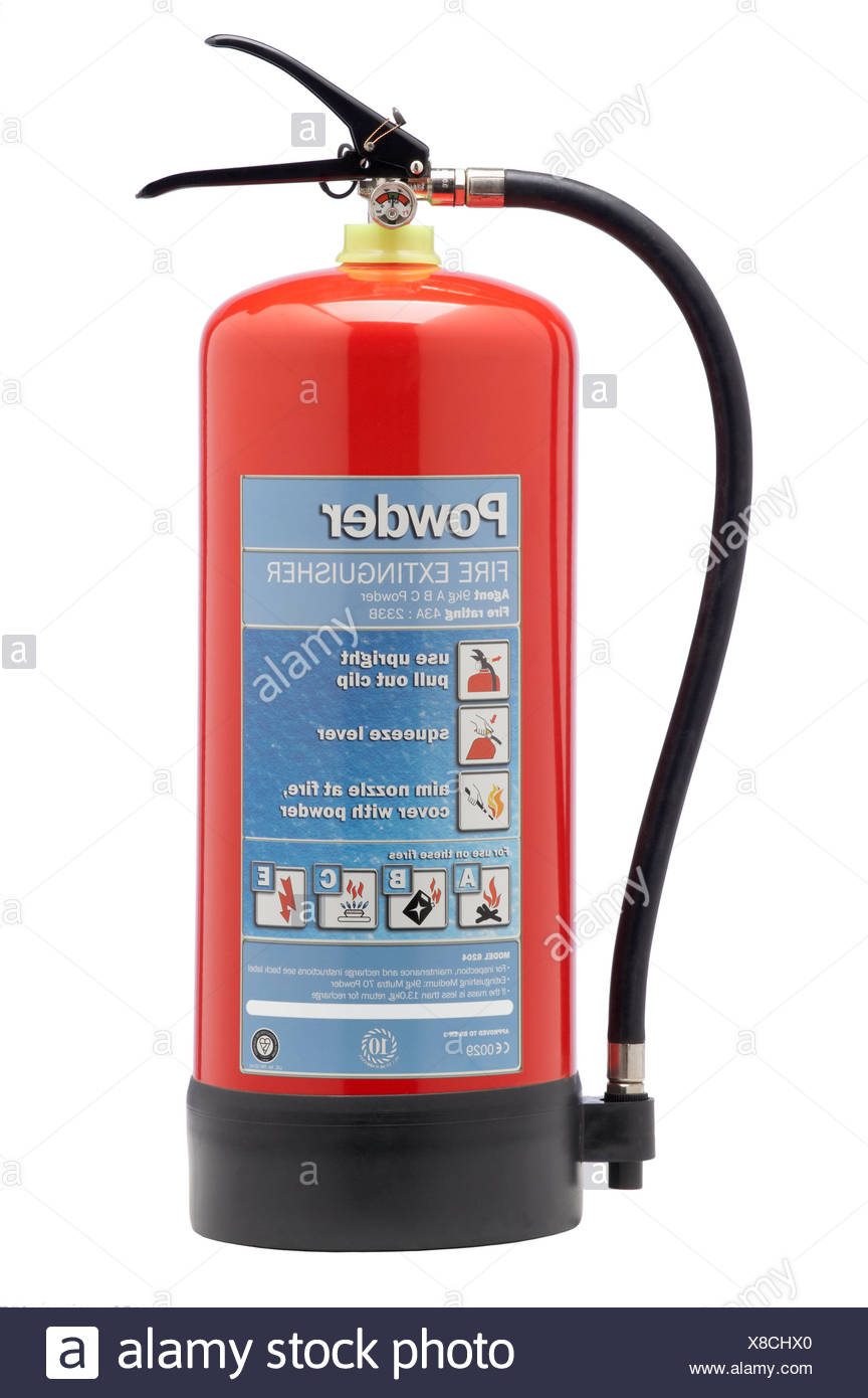 Powder Fire Extinguisher Stock Photos & Powder Fire Extinguisher ...