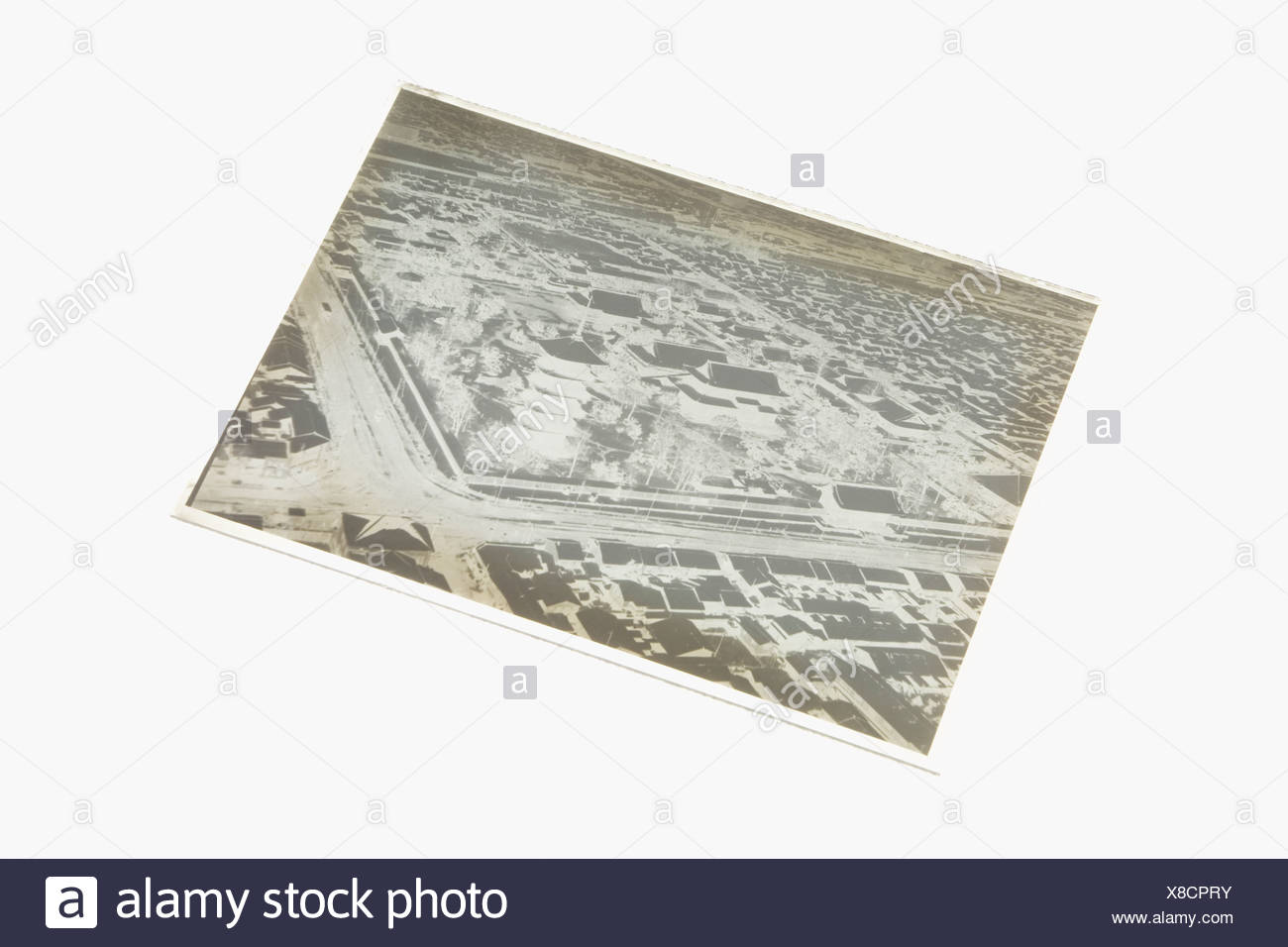 Photographic plate - Stock Image