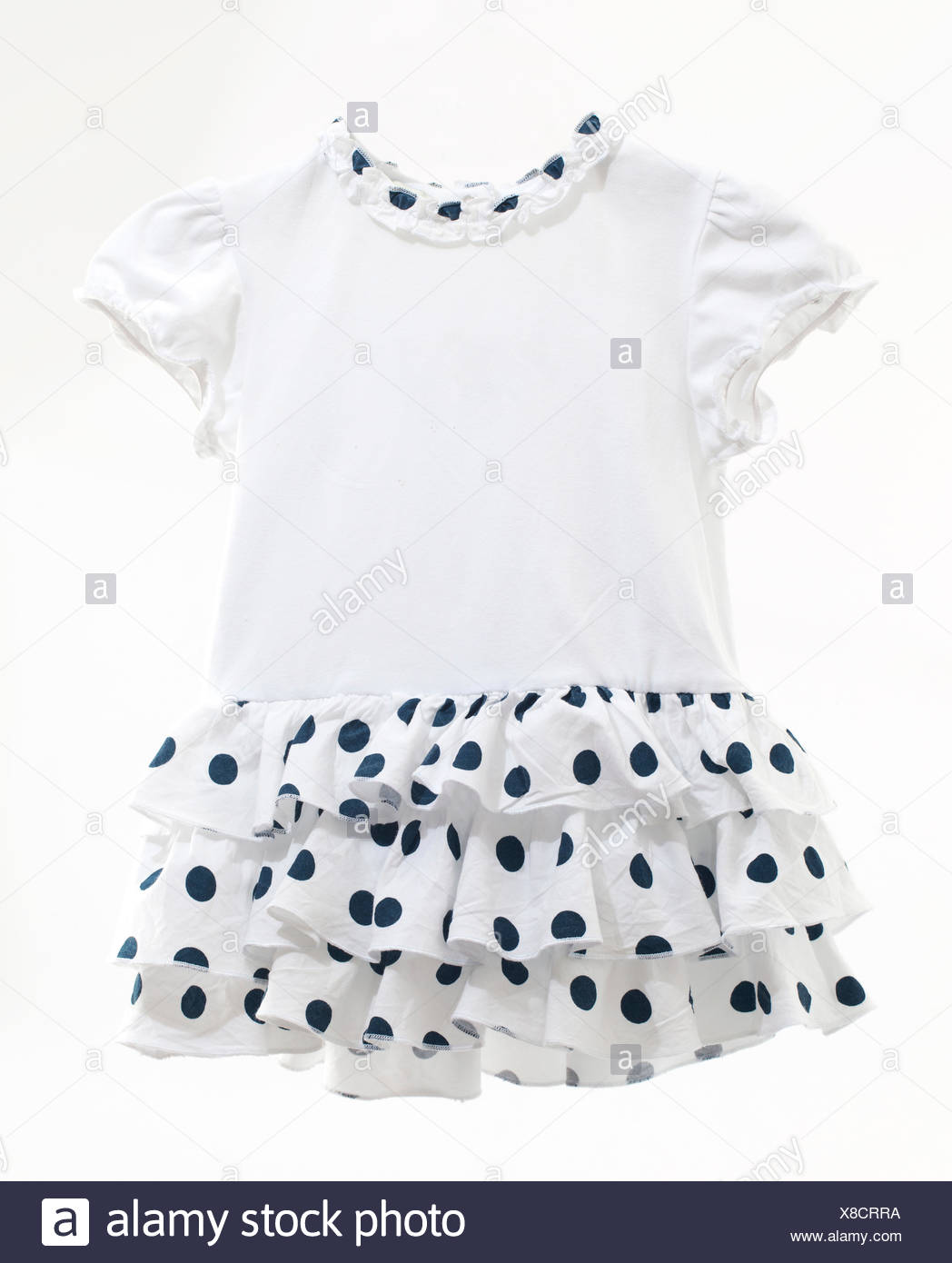 isolated, baby, clothes, cotton, fabric, dress, newborn child ...