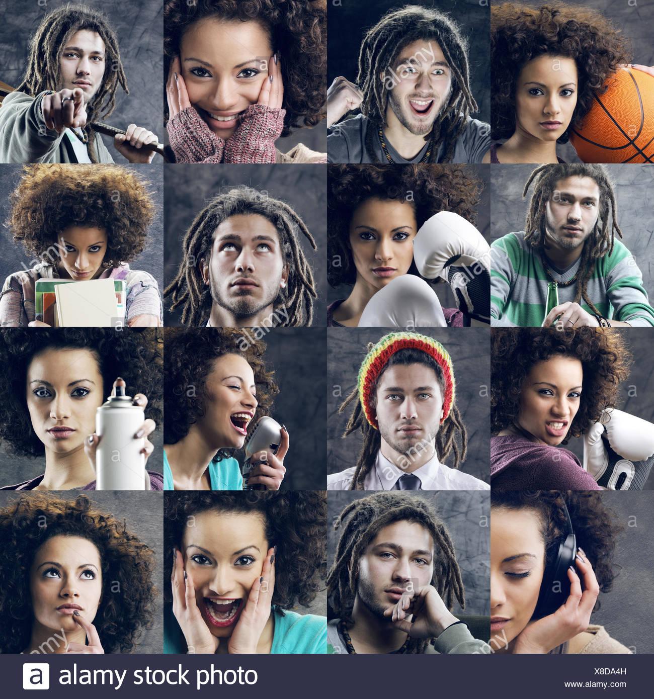 Youth lifestyle - Stock Image