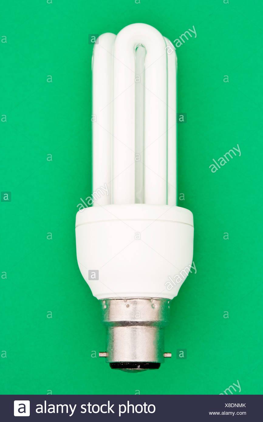 Energy saving lightbulb - Stock Image