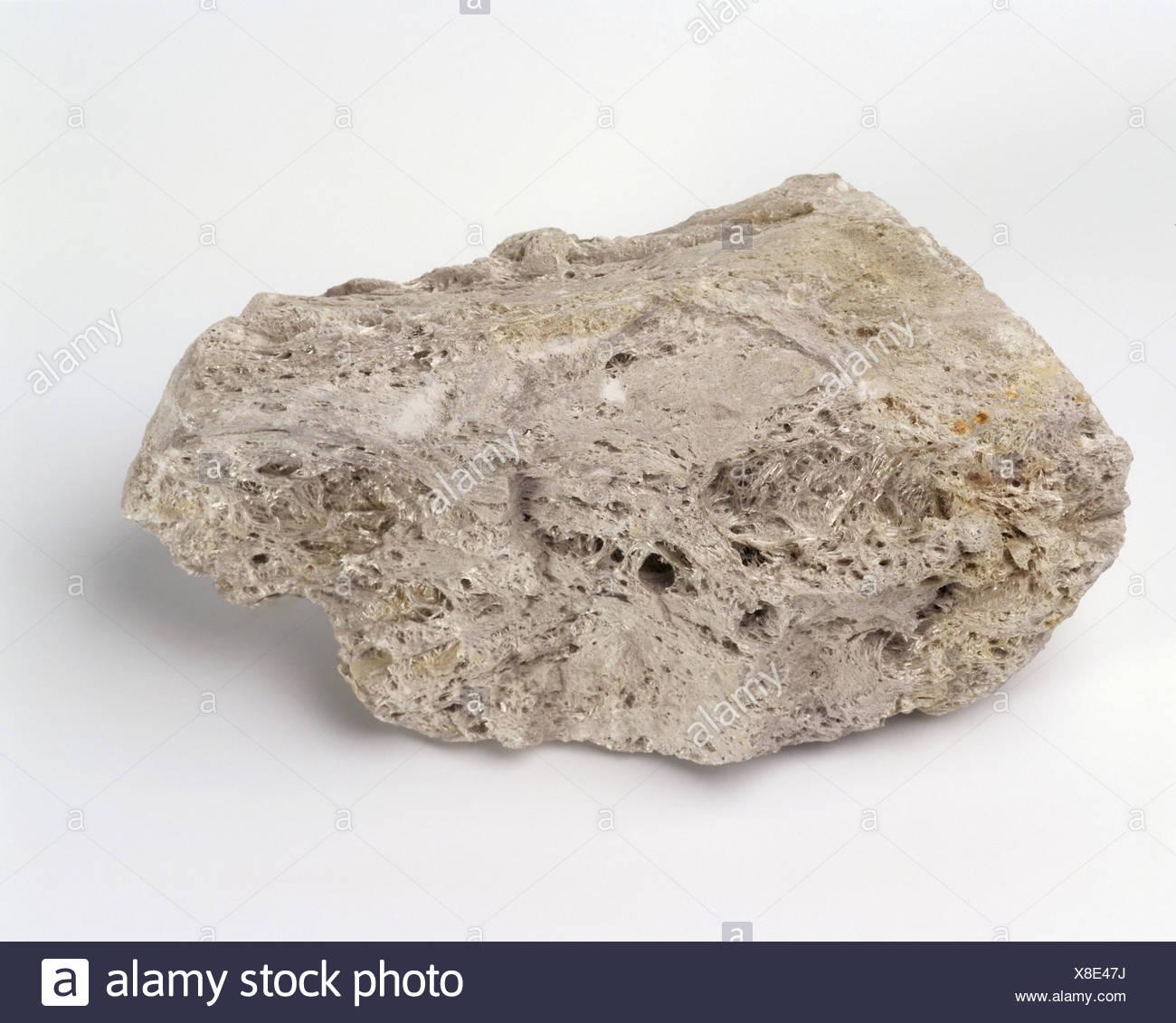 Igneous rock : Pumice - Stock Image