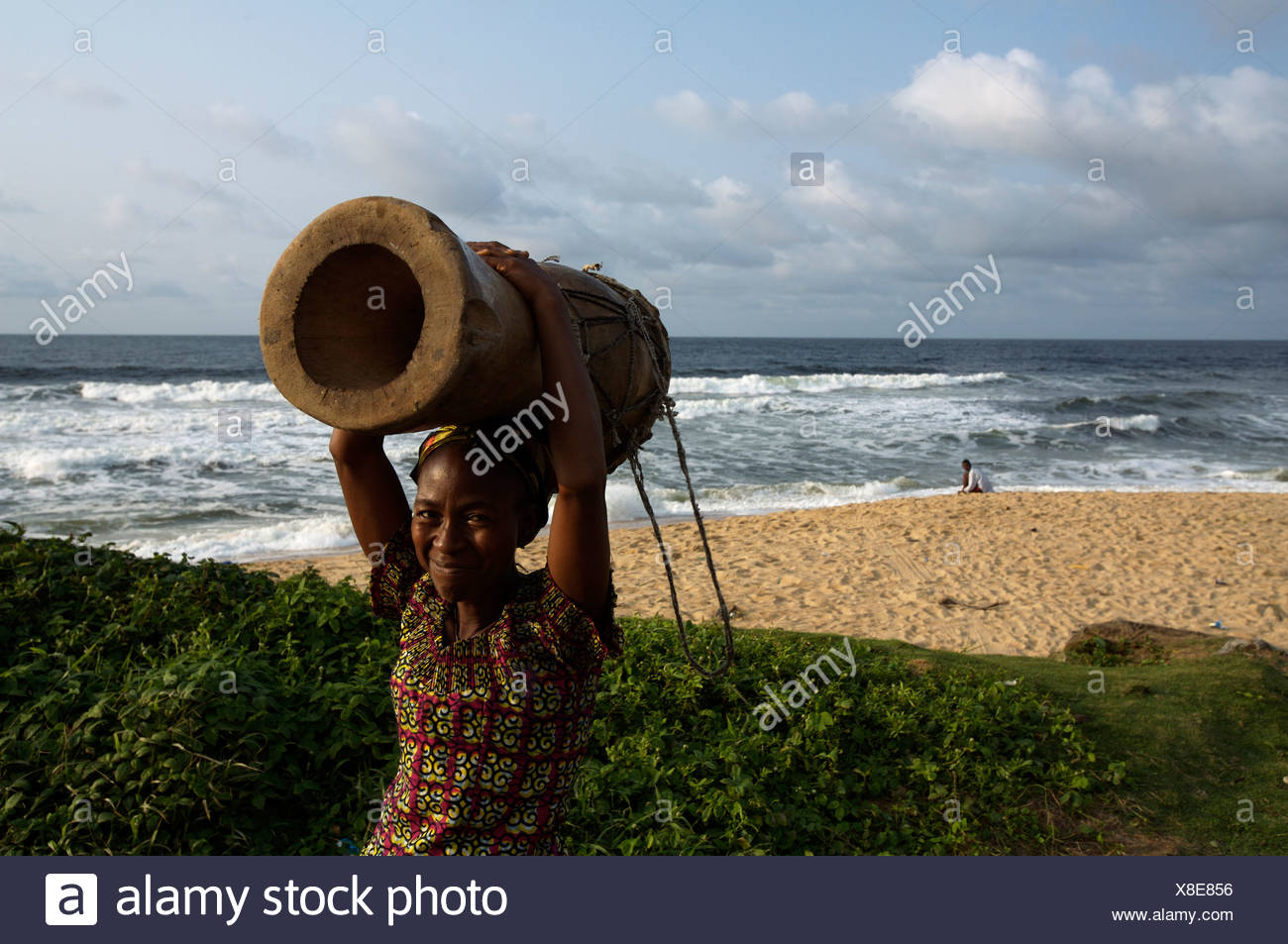 Liberia recovers from decades of civil war. - Stock Image