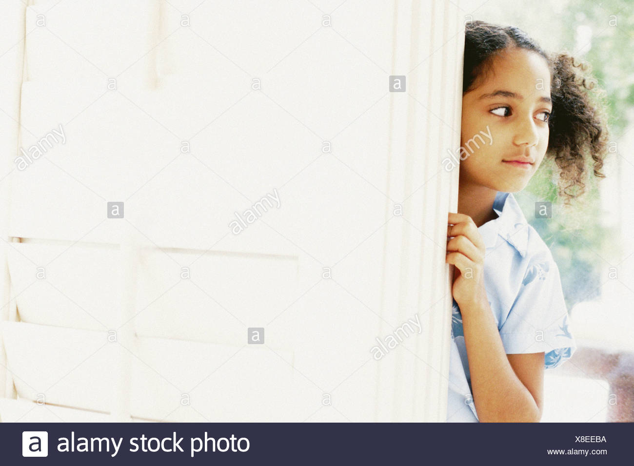 Portrait of a girl - Stock Image