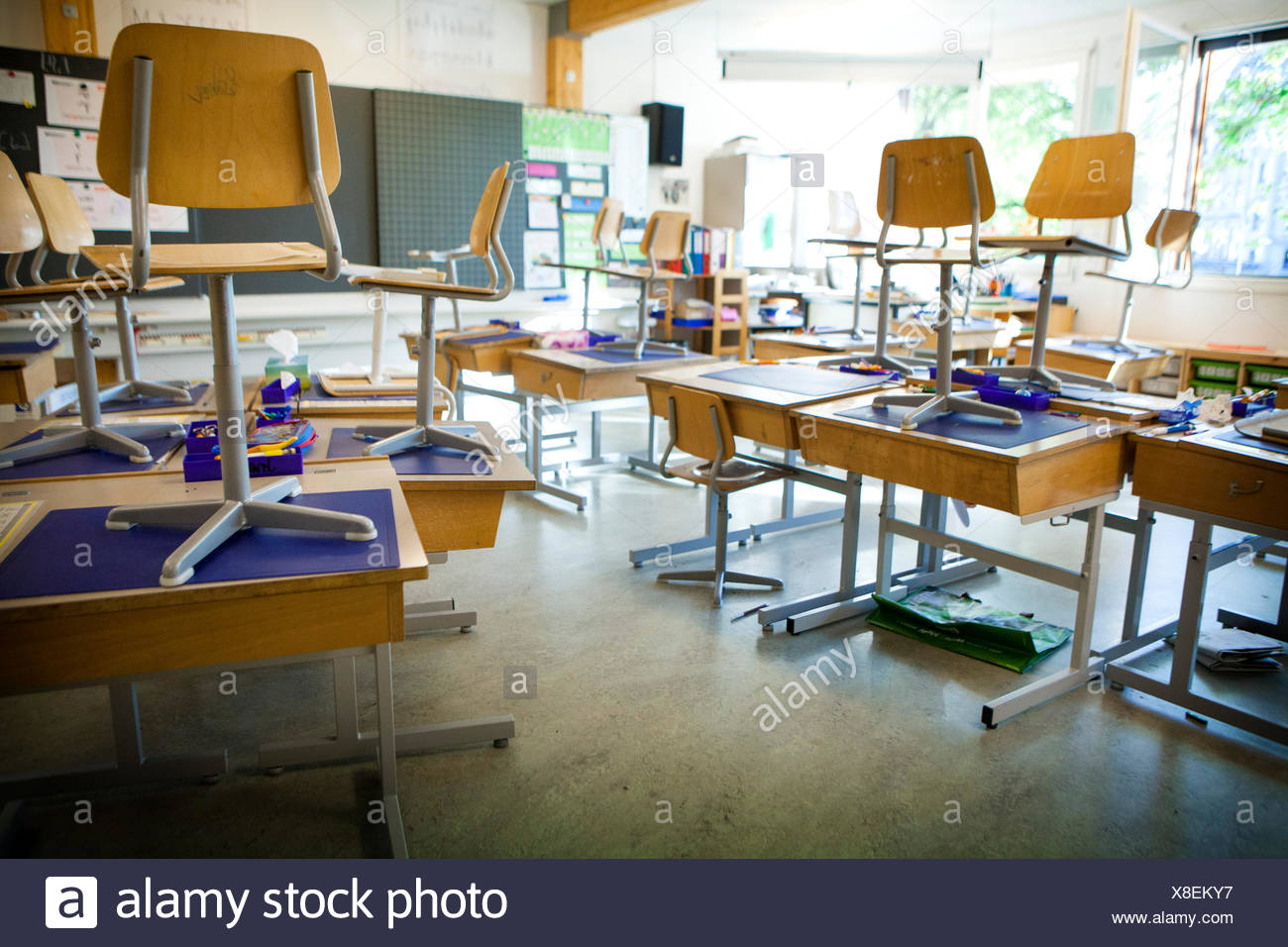 Primary school - Stock Image