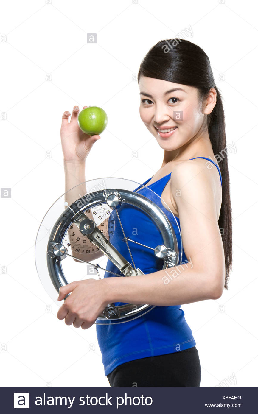 Healthy Woman - Stock Image
