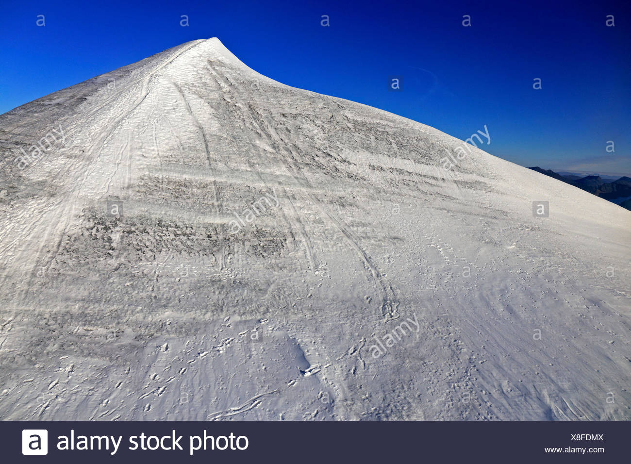Europe, Sweden, Lapland, province of Norrbotten, Nikkaluokta, view at the Kebnekaise - Stock Image