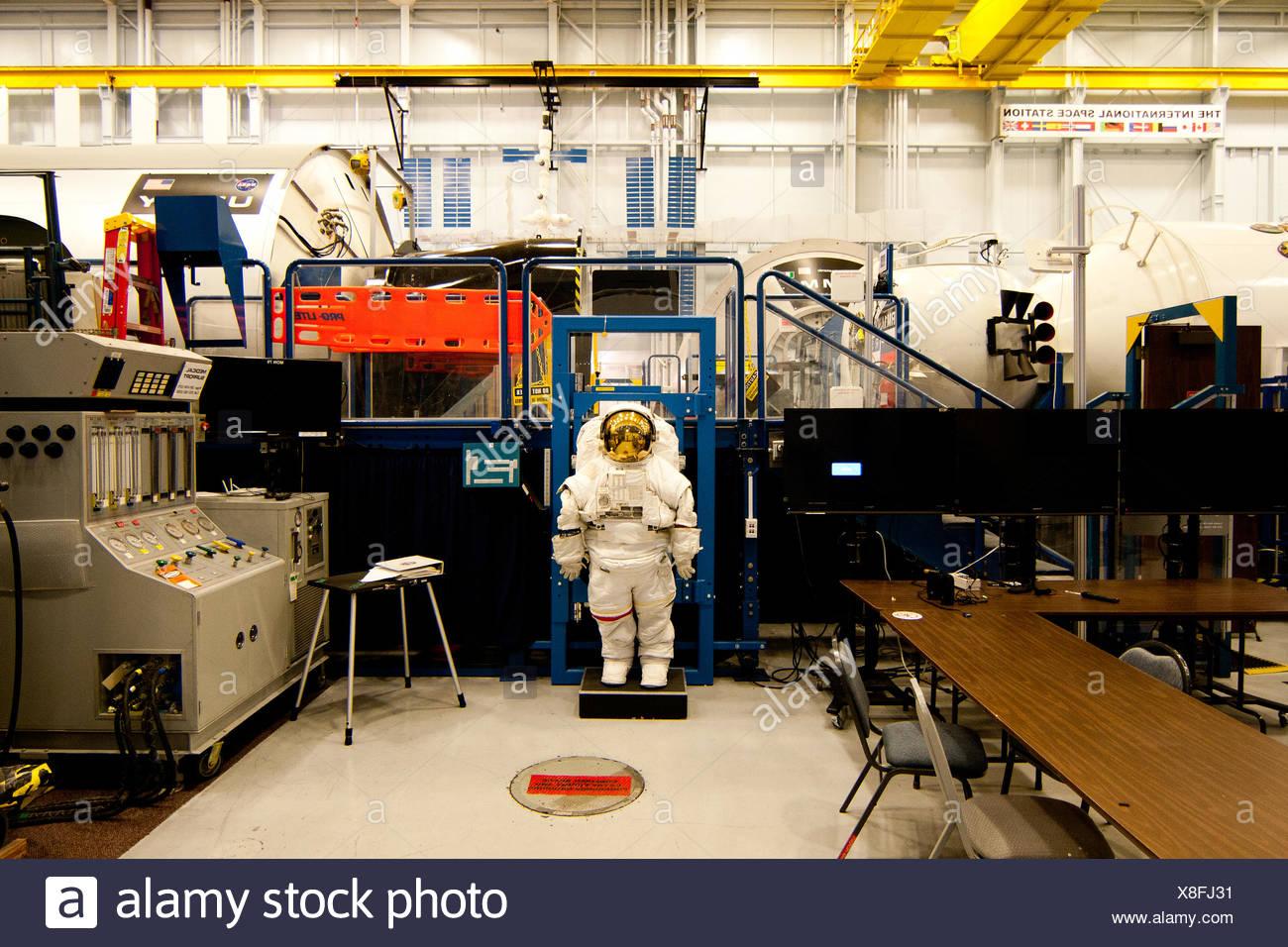 NASA Space vehicle mockup facility - Stock Image