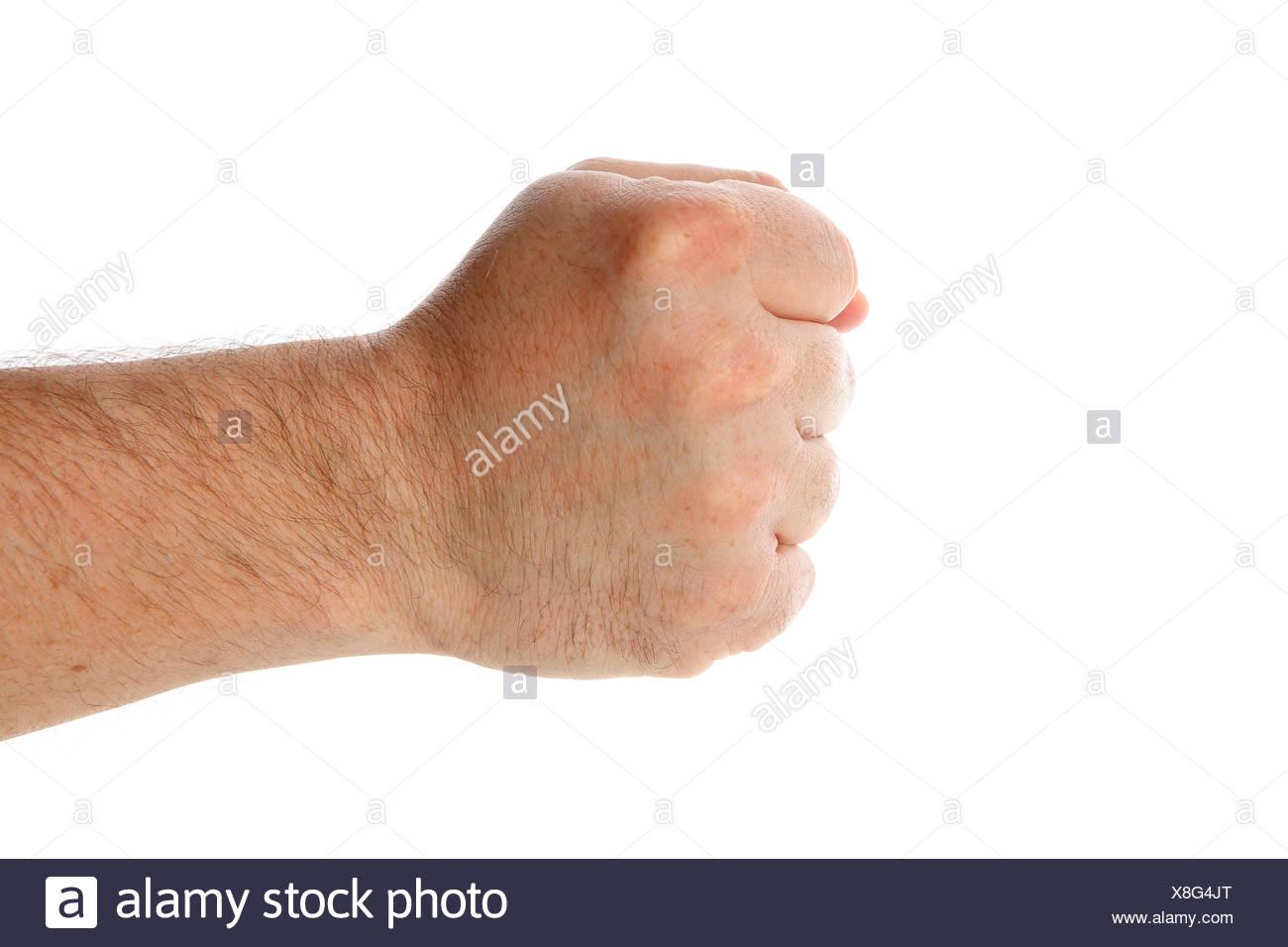 fist - Stock Image