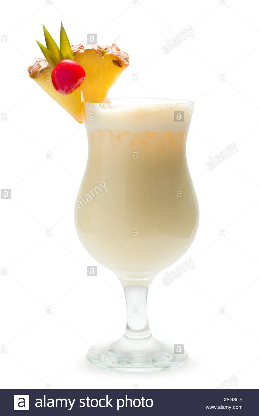 Cocktail Long Drink Pina Colada White Rum Coconut Palm