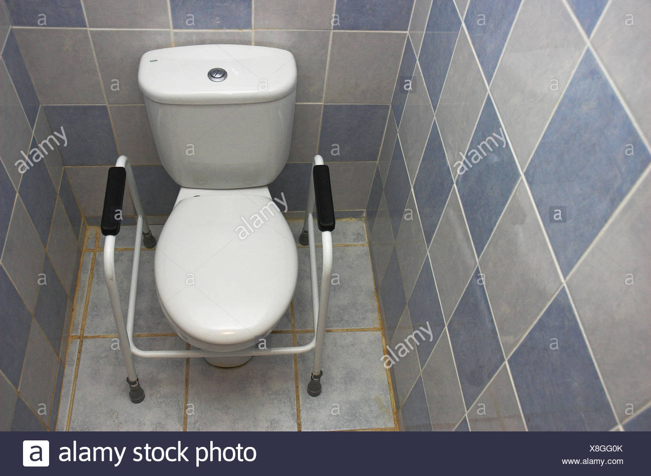 Disability aid for wc toilet Stock Photo: 280646931 - Alamy