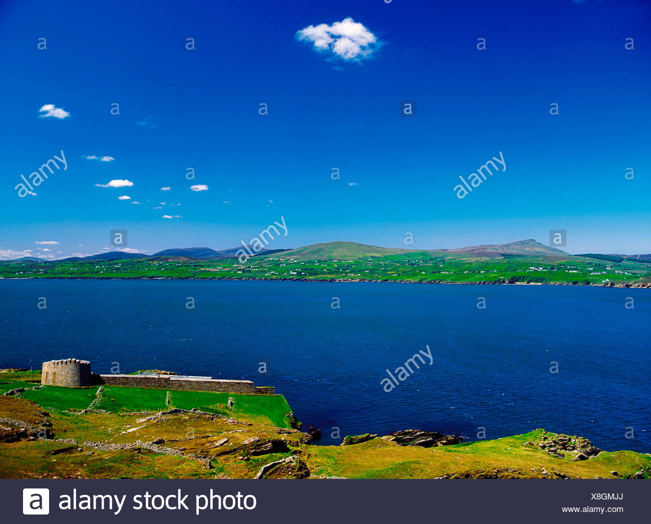 Lough Swilly, Co Donegal, Ireland; Napoleonic Fort - Stock Image