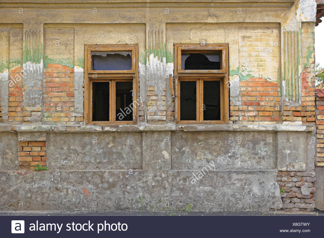 Run Down House - Stock Image