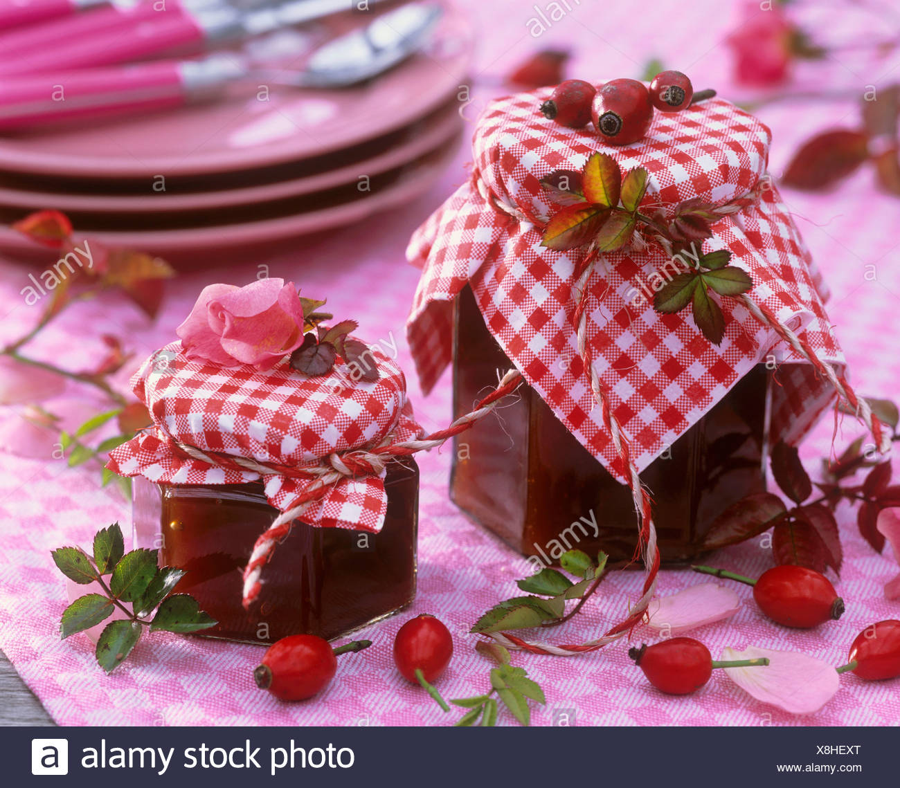 Making Jam Jars Stock Photos & Making Jam Jars Stock Images - Page 3 ...