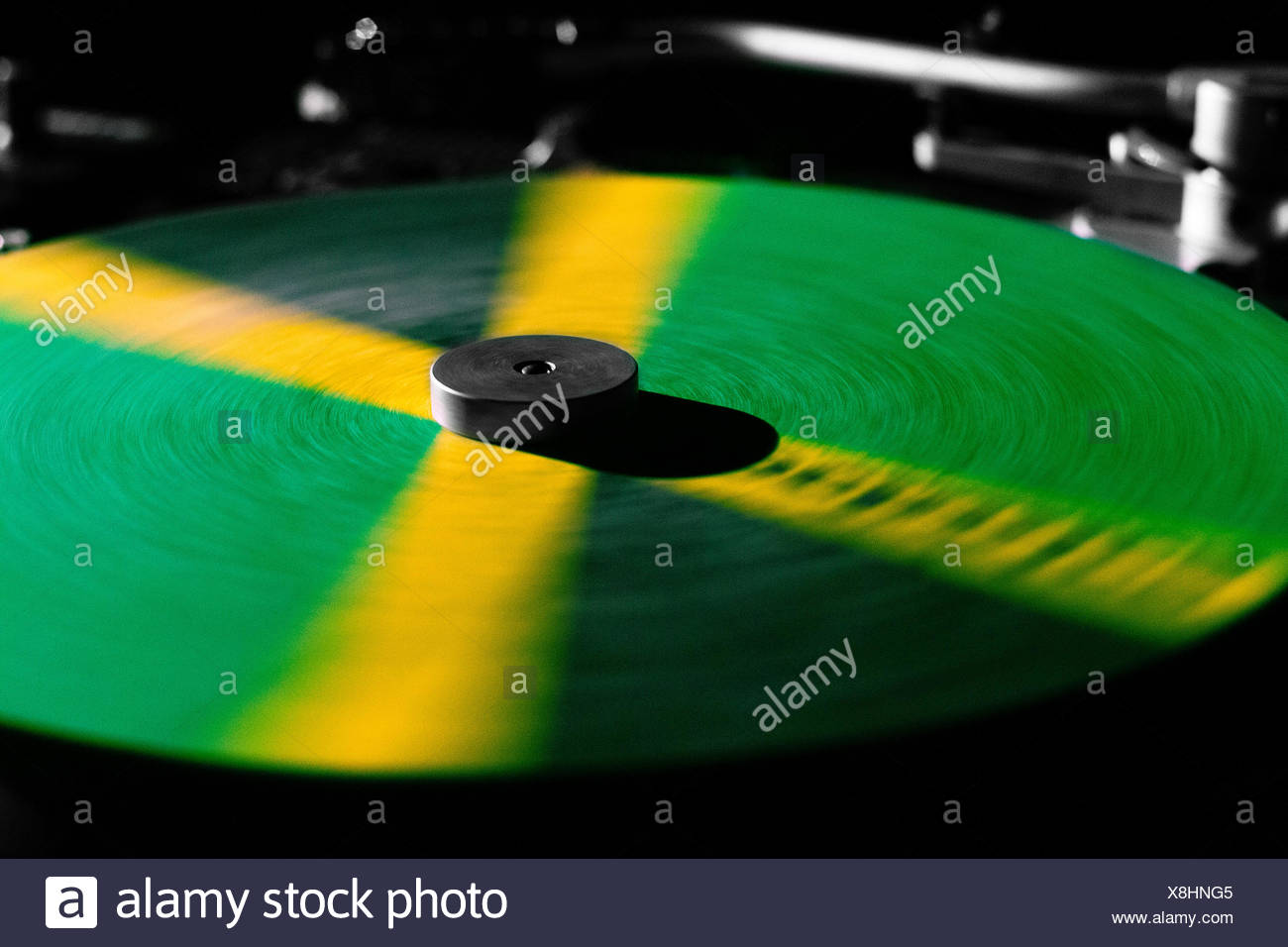 Jamaican thurntable - Stock Image
