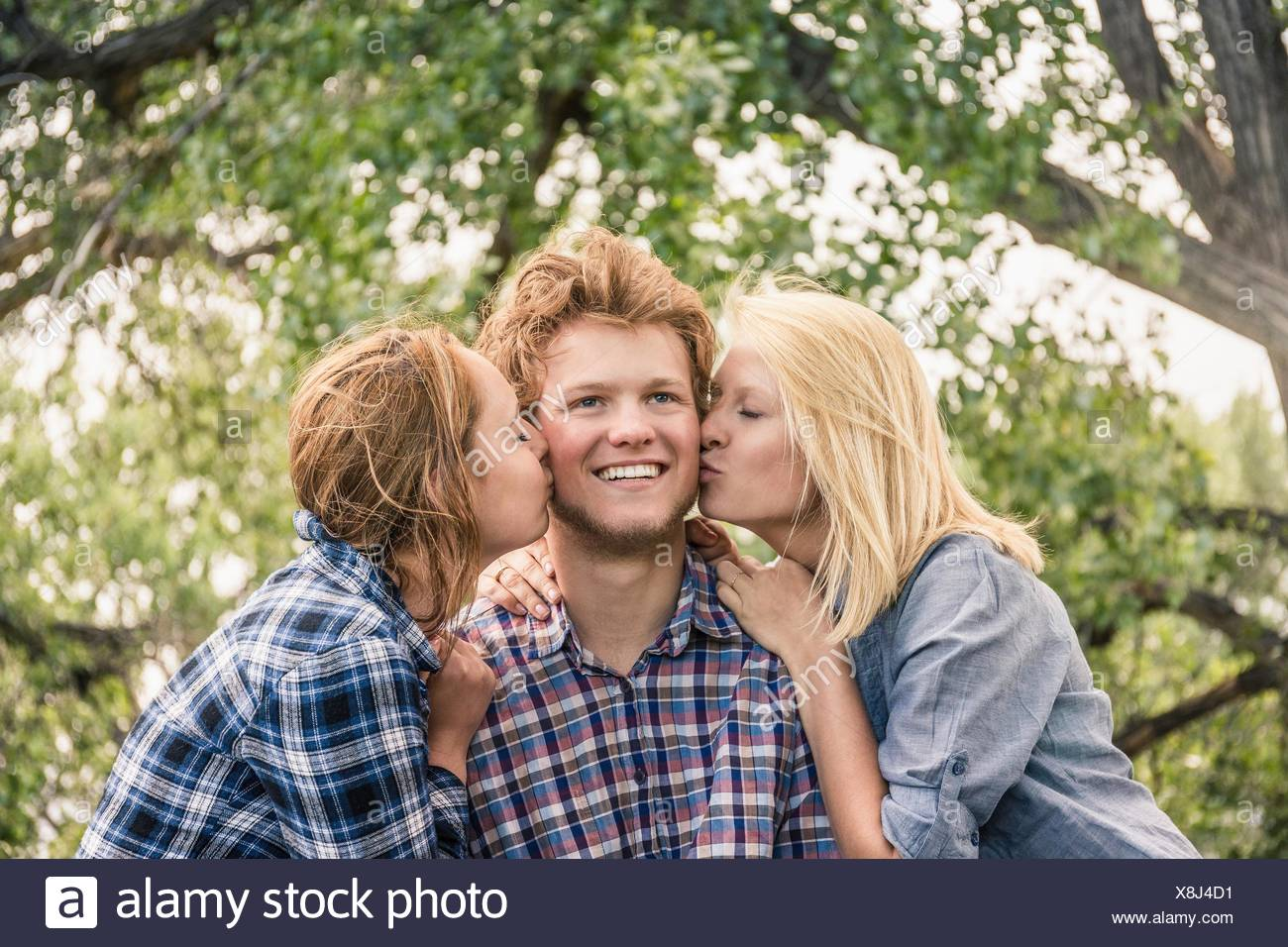 Consider, that Wife kissing teen girl