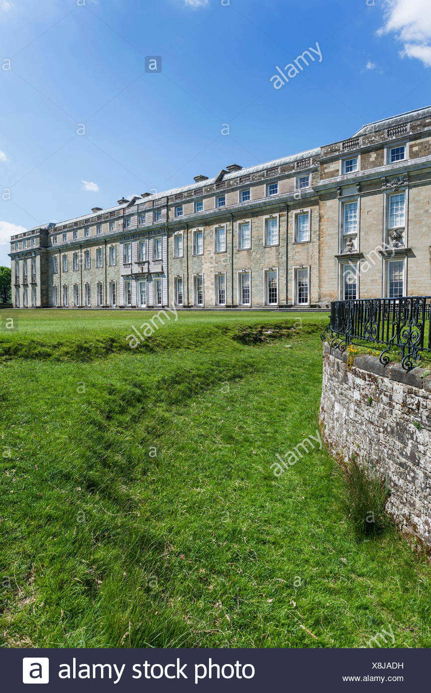 England, West Sussex, Petworth, Petworth House, - Stock Image