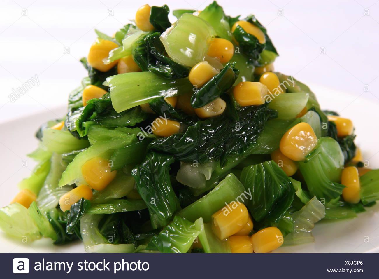 Corn greengrocery - Stock Image
