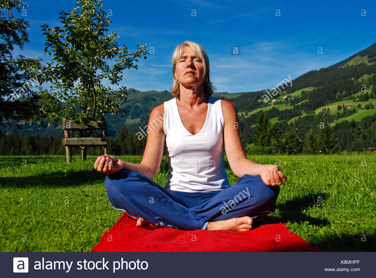super chill out - Stock Image
