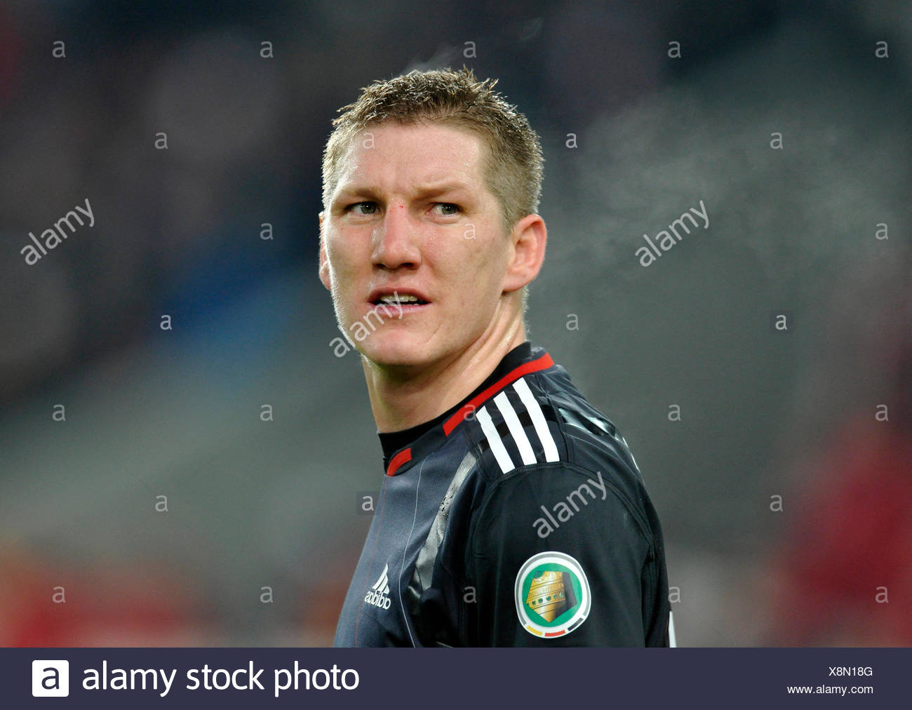 Fc Munich Player Bastian Schweinsteiger Stock Photos & Fc