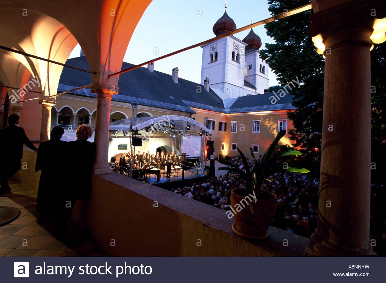 Carinthia Choir, Millstatt, Milstatt Lake, Carinthia, Austria, Europe - Stock Image