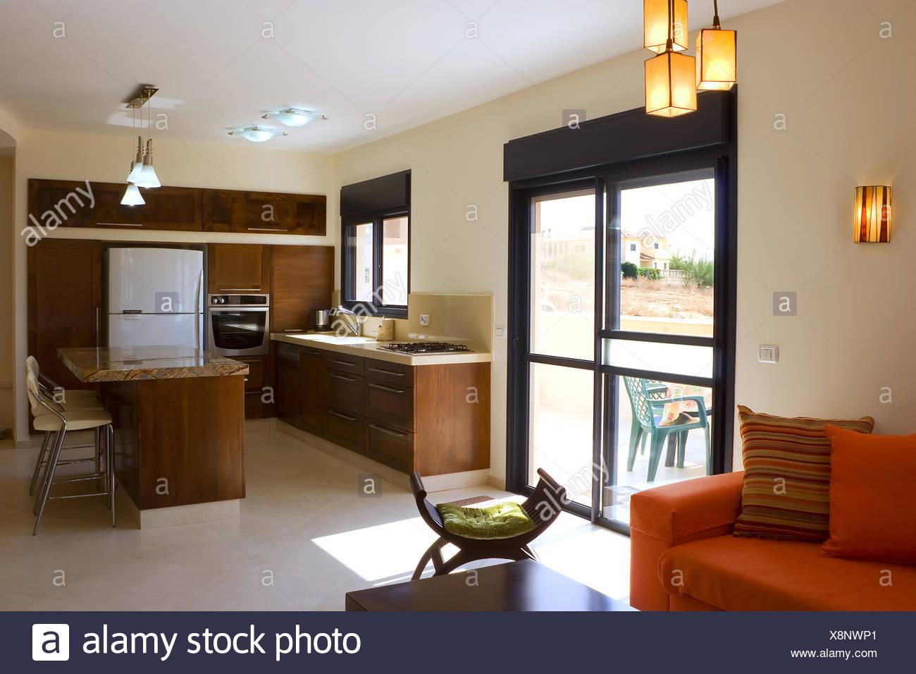living room 2 - Stock Image