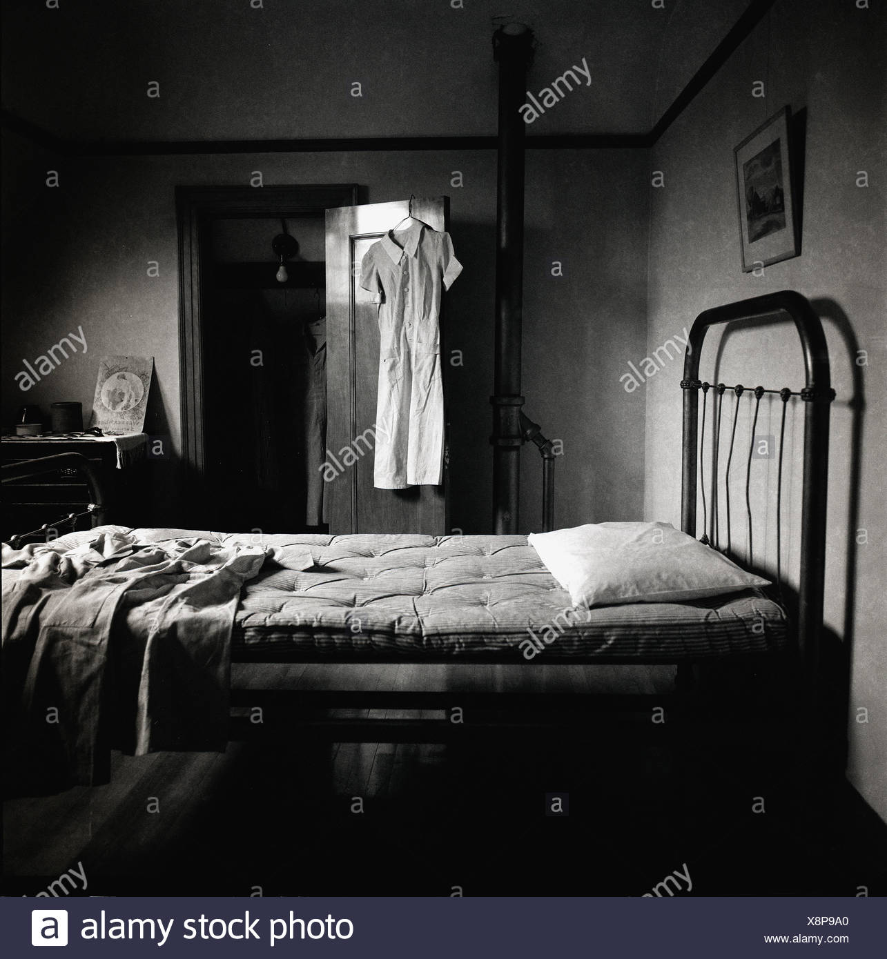 An old fashioned bedroom Stock Photo: 280773416 - Alamy