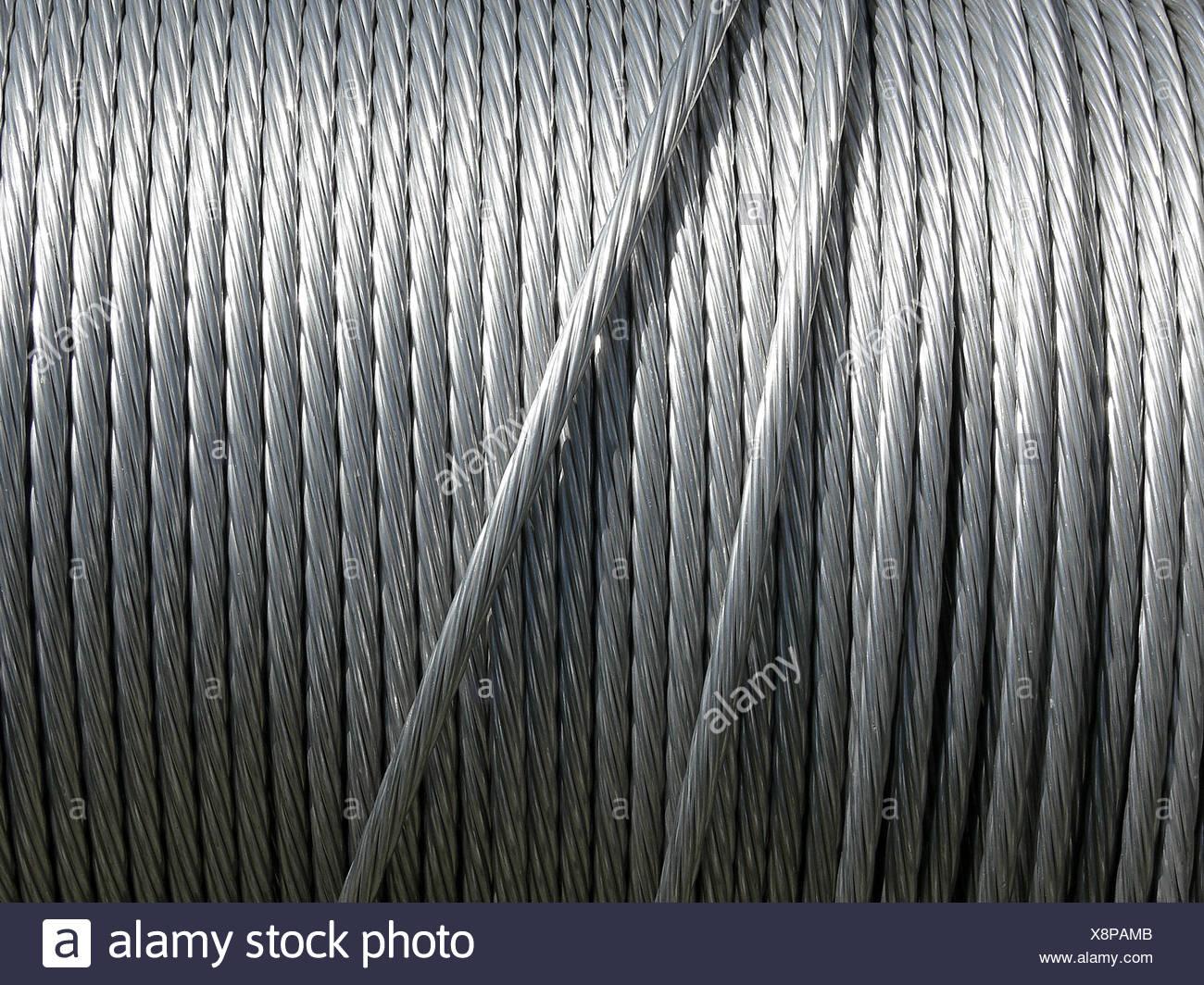 silver steel brilliance - Stock Image
