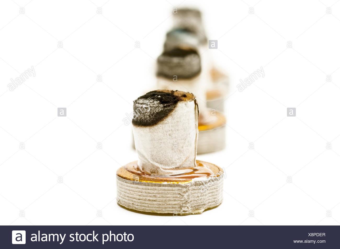 moxibustion - Stock Image
