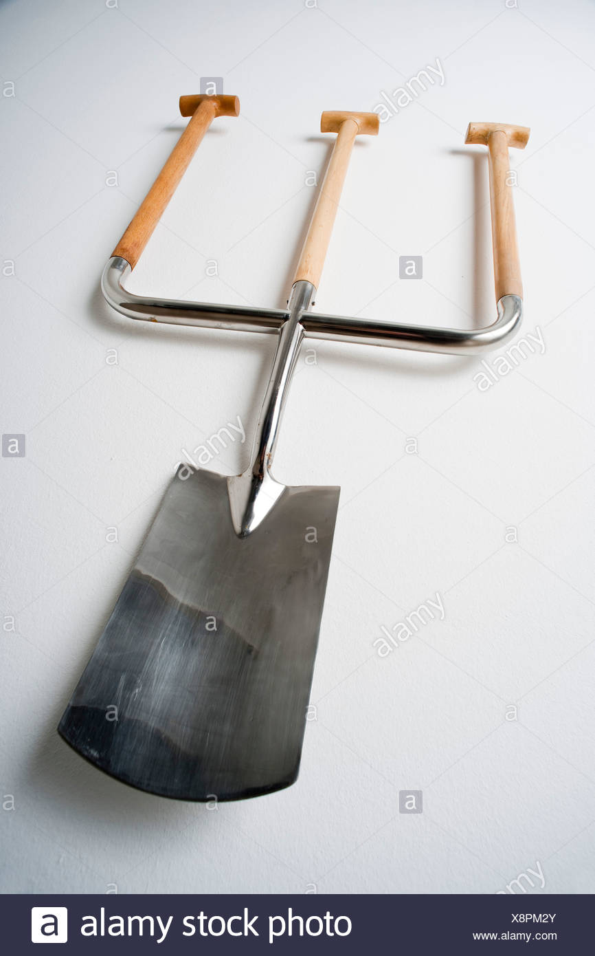 Spade for the first cut, for three people - Stock Image
