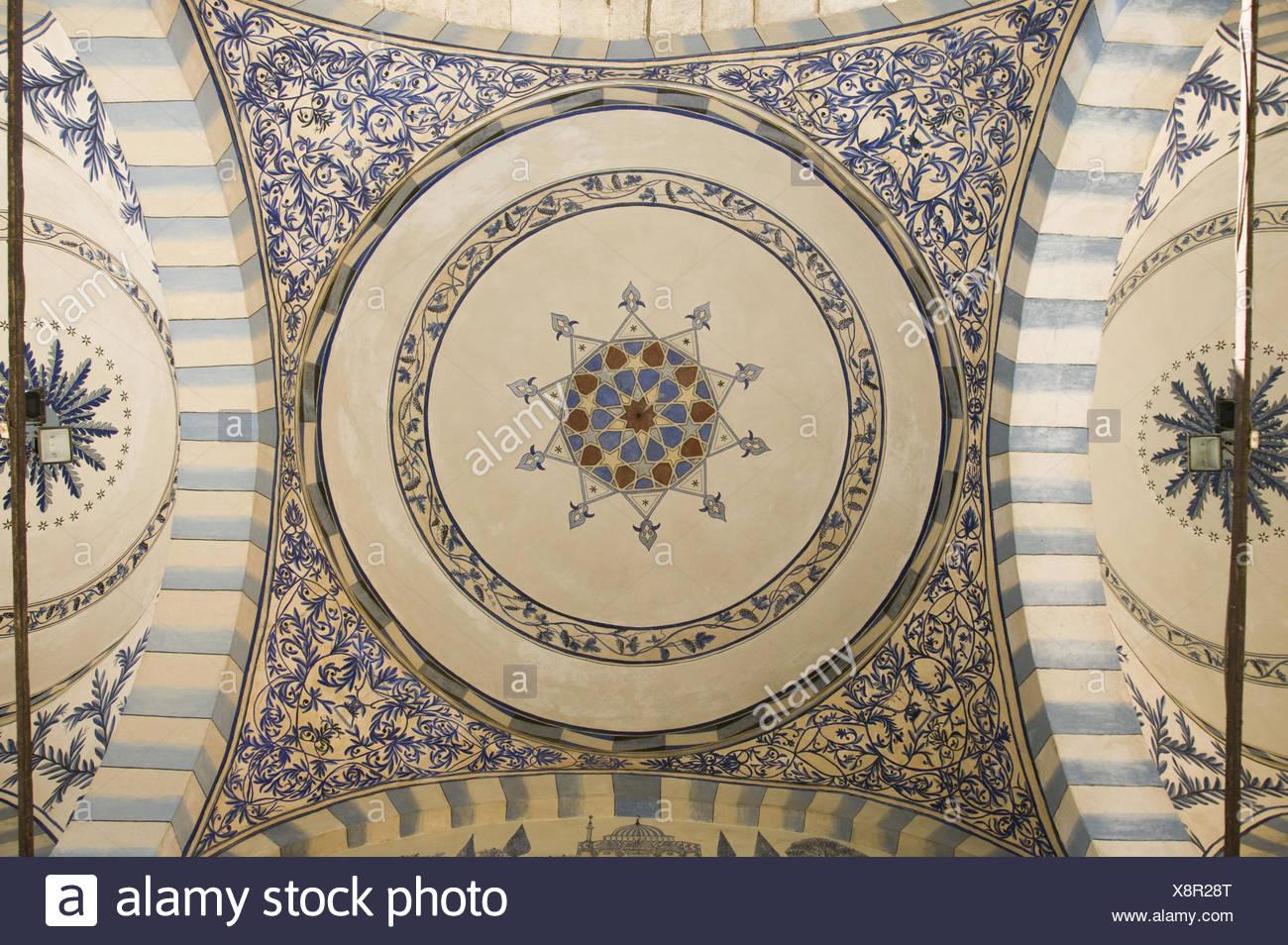 Kosovo, Prishtina, Jasar-Pascha-Moschee, Innenaufnahme, - Stock Image