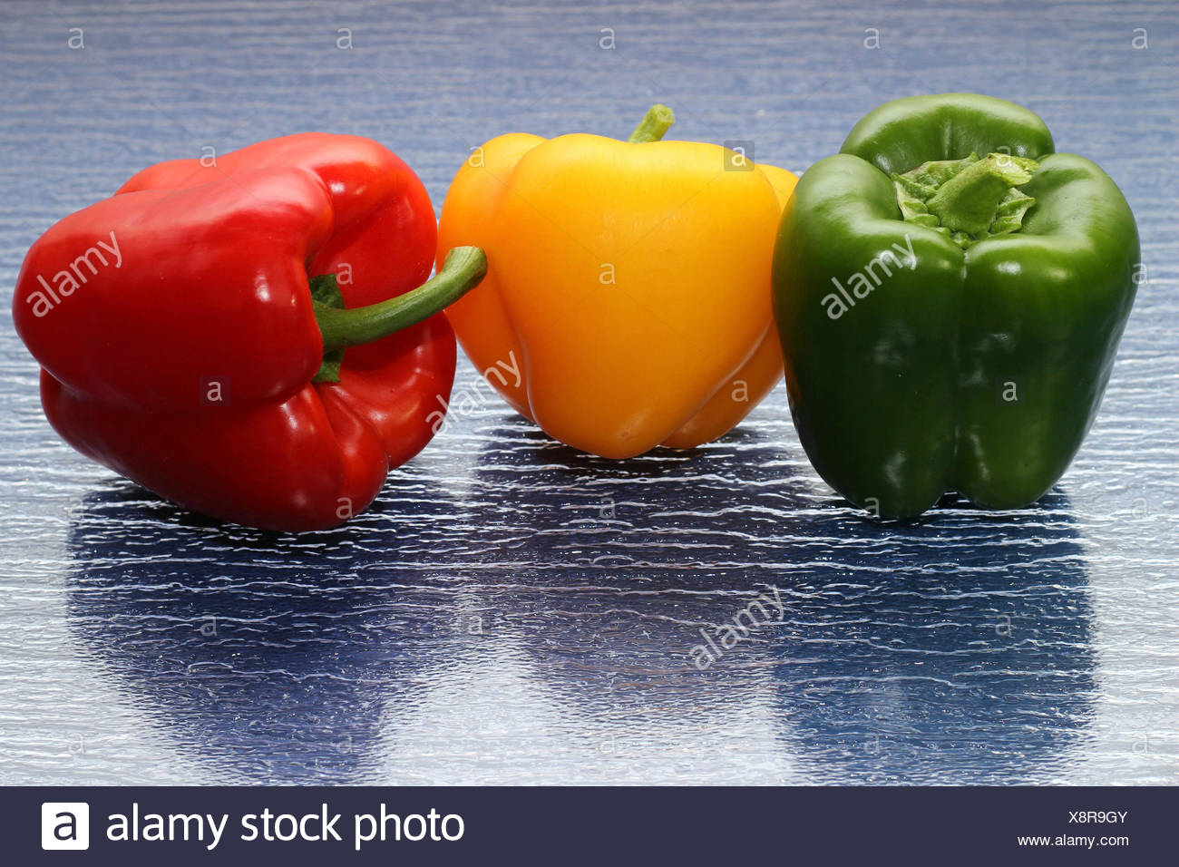 Pepper - mix - Stock Image