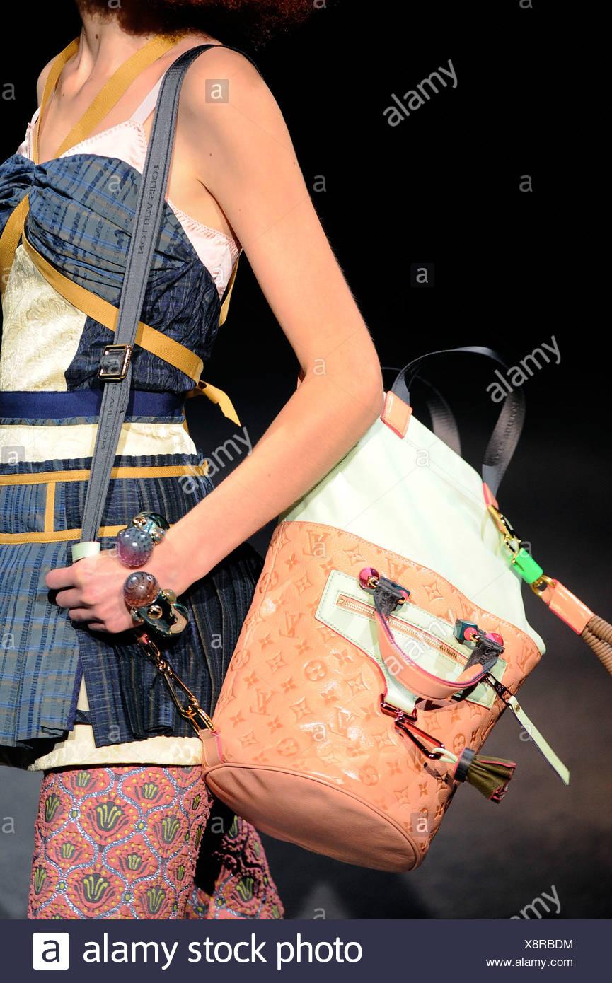 28c74c71bb Louis Vuitton Paris Ready to Wear Spring Summer Blue bustier top ...