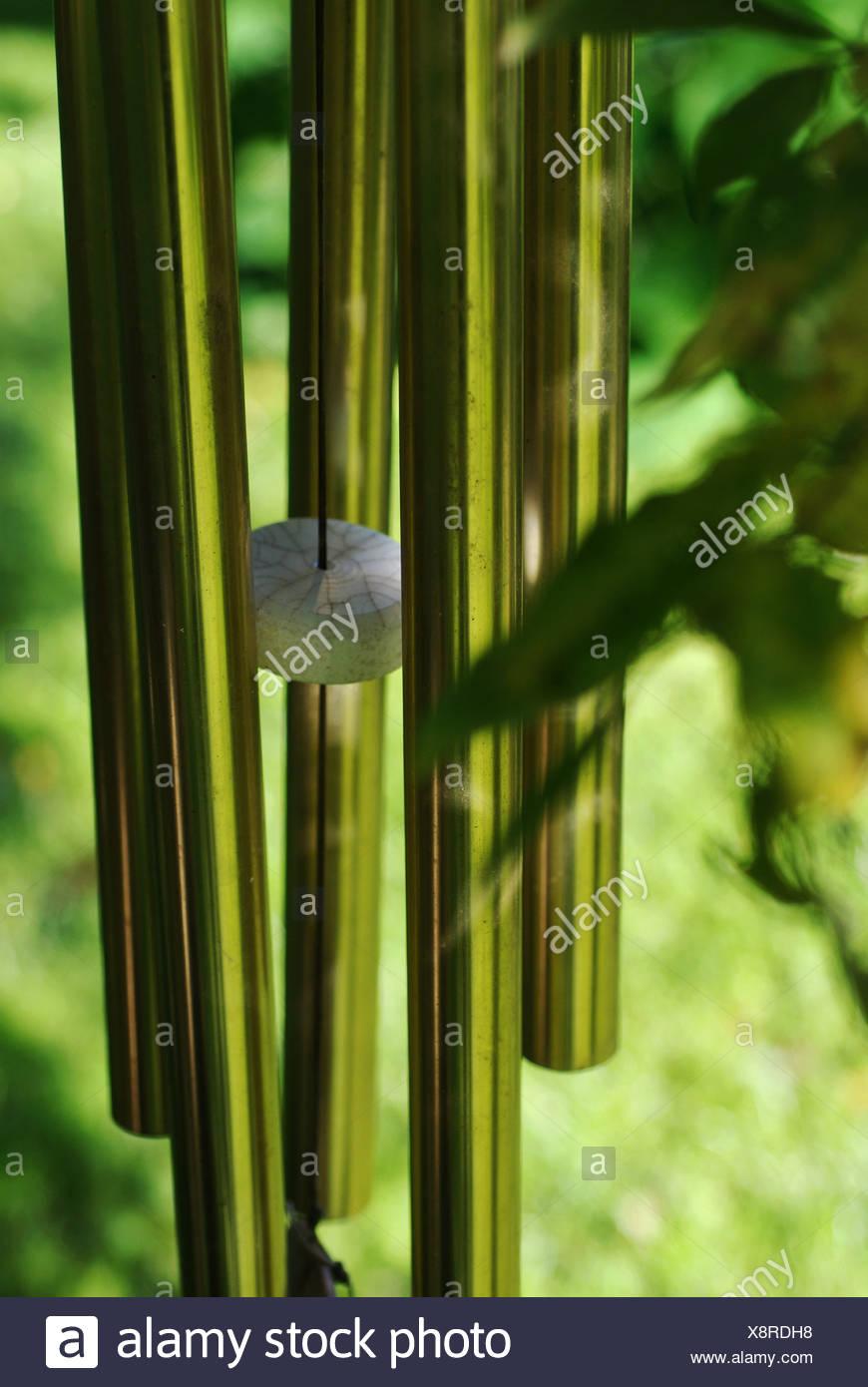 Windlass in greenery - Stock Image
